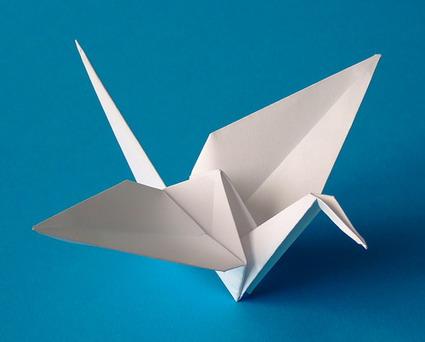 Aprende a realizar un ave de origami « Manualidades