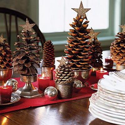 Centro Mesa Navidad Archivos Manualidadesmanualidades - Manualidades-centros-de-navidad