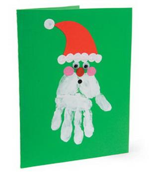 Tarjetas navide as manualidades - Ideas para hacer postales de navidad con ninos ...
