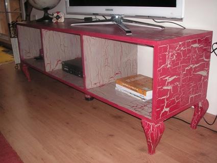 craquelado casero envejeciendo muebles manualidades
