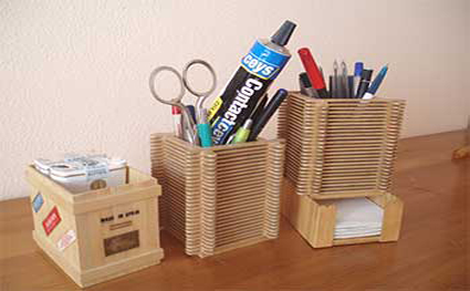 Portalapices manualidades - Manualidades de madera paso a paso ...