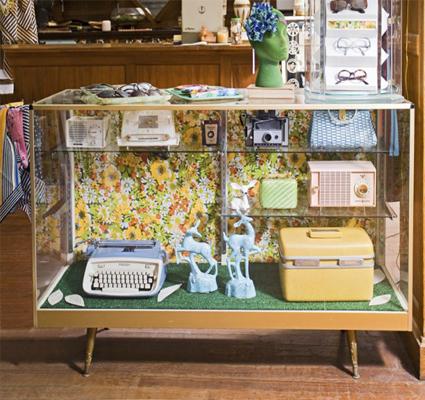 Vintage manualidades - Como decorar una vitrina ...