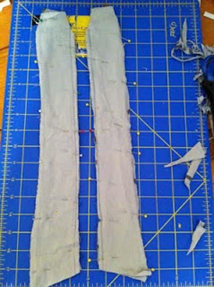 Recicla una camiseta polo manualidades - Reciclar ropa manualidades ...