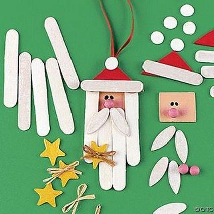 Decoracion navidad manualidades - Manualidades faciles de navidad para ninos ...