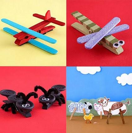 Animalitos de broches manualidades - Broches para manualidades ...