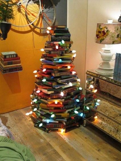 Un Original Arbol De Navidad Manualidadesmanualidades - Manualidad-arbol-navidad
