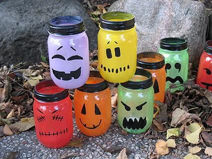 Botes de cristal para Halloween