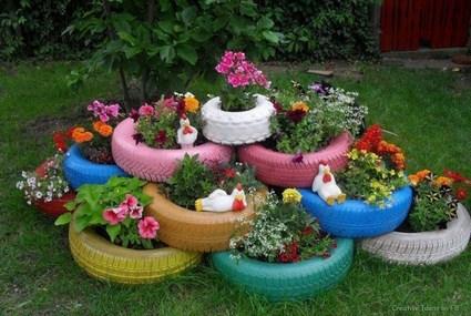 neumáticos reciclados
