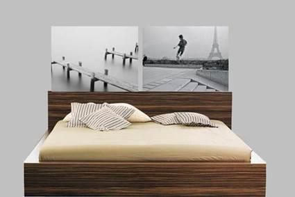 Decora el cabecero de la cama manualidadesmanualidades - Cuadros para cabeceros de cama ...