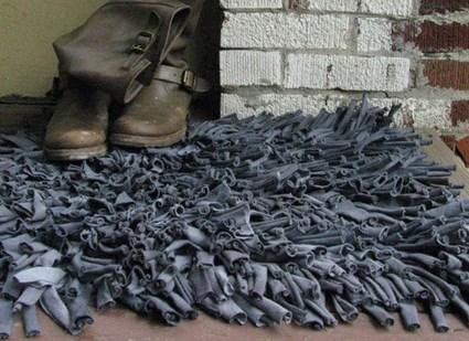 Tutorial para hacer una alfombra peluda manualidadesmanualidades - Tutorial alfombra trapillo ...