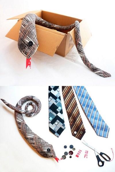 corbatas serpientes