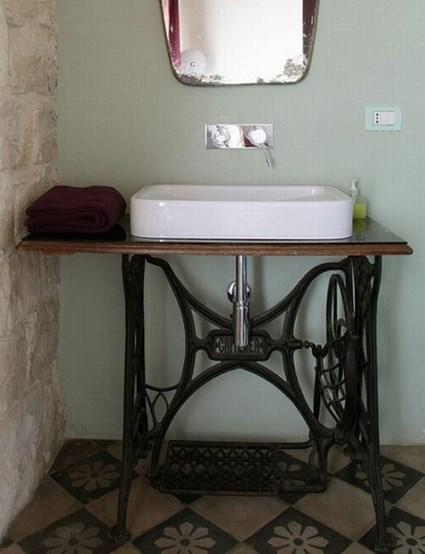 Viejos muebles reciclados con encanto manualidades - Como reciclar muebles viejos ...