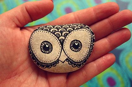 Dise os de piedras pintadas manualidades - Piedras de rio pintadas ...