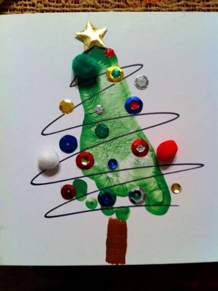 Ideas navideas para nios Manualidades