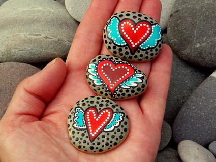 Inspiración para pintar piedras « Manualidades