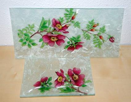 decoupage vidrio