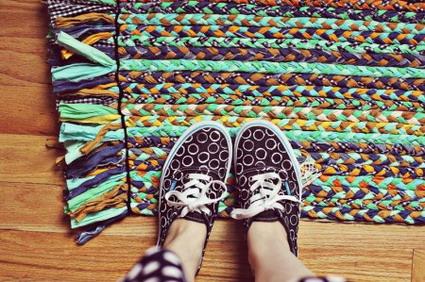 alfombra trenzada