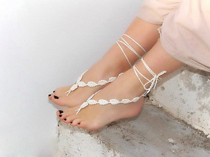 Tutorial sandalias pies descalzos « Manualidades
