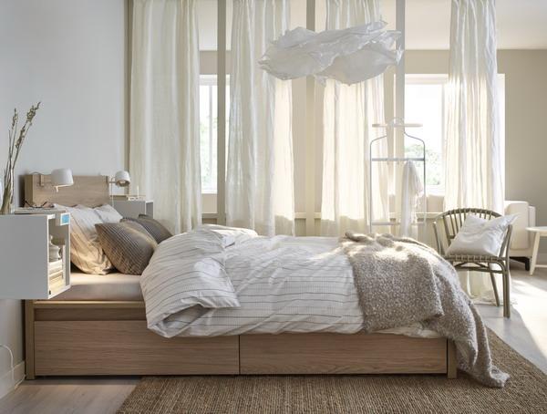 Dormitorio ordenado