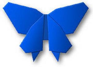 Una Mariposa De Papel Manualidadesmanualidades