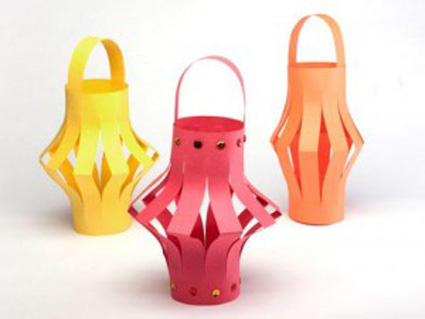 Lámparas Chinas De Papel Manualidadesmanualidades
