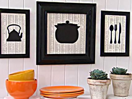 Decora las paredes de la cocina