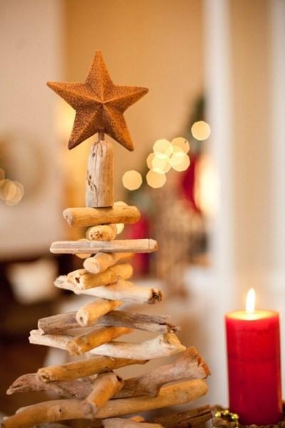 Como hacer un arbol de navidad pequeno
