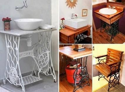 Viejos muebles reciclados con encanto for Muebles antiguos reciclados
