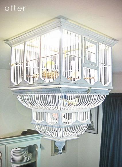 lampara jaula