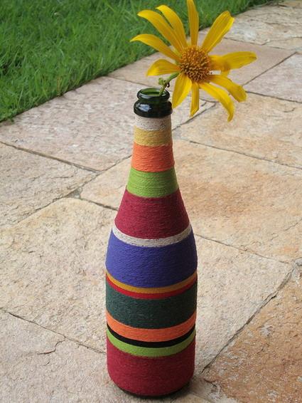 botella decorar