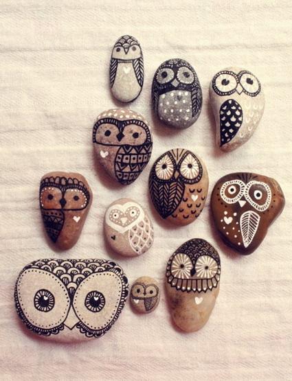 idea piedras pintadas