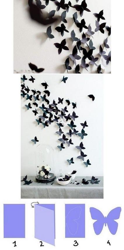 mariposas cartulina
